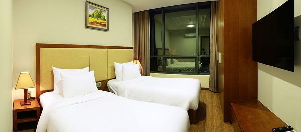 Enjoy sea view from Deluxe Room